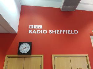 Our visit to BBC Radio Sheffield in January 2019.